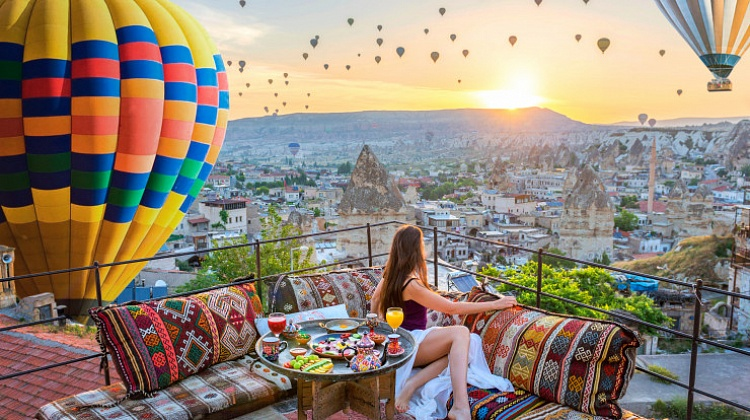 картинка фотография курорта Каппадокия в Турции